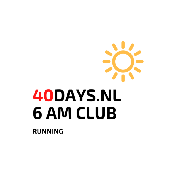 40DAYS.NL 6AMCLUB Hardlopen in Rotterdam