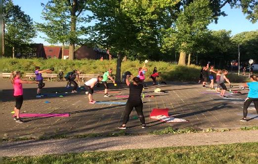 Bootcamp met 40days.nl in Rotterdam Zevenkamp